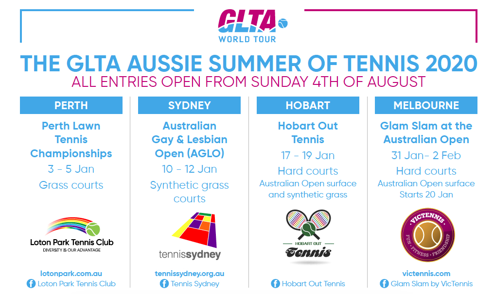 Ready For Australian Summer Glta World Tour Australia